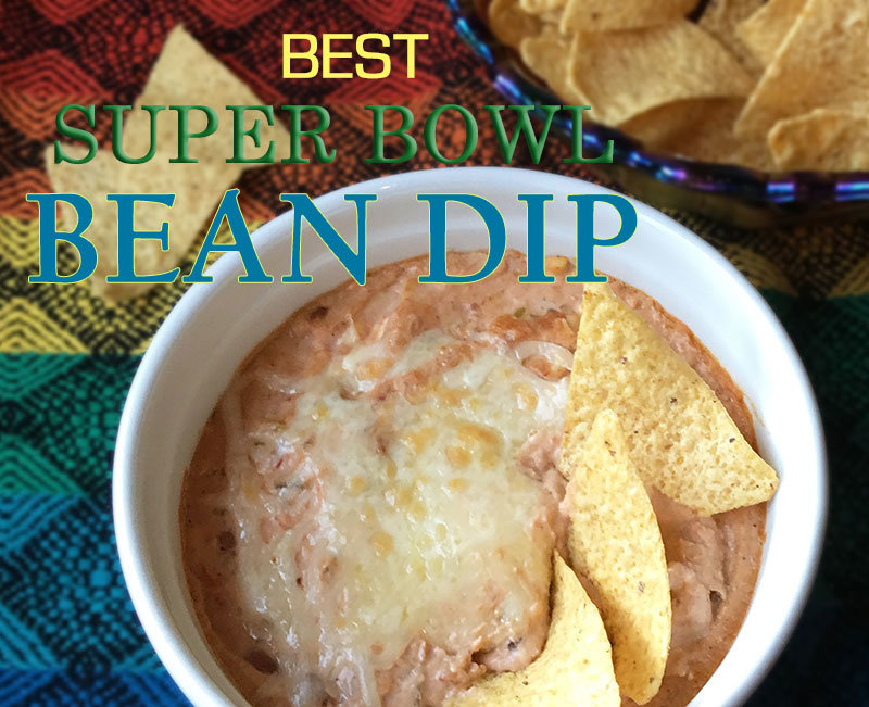 Best Super Bowl Bean Dip