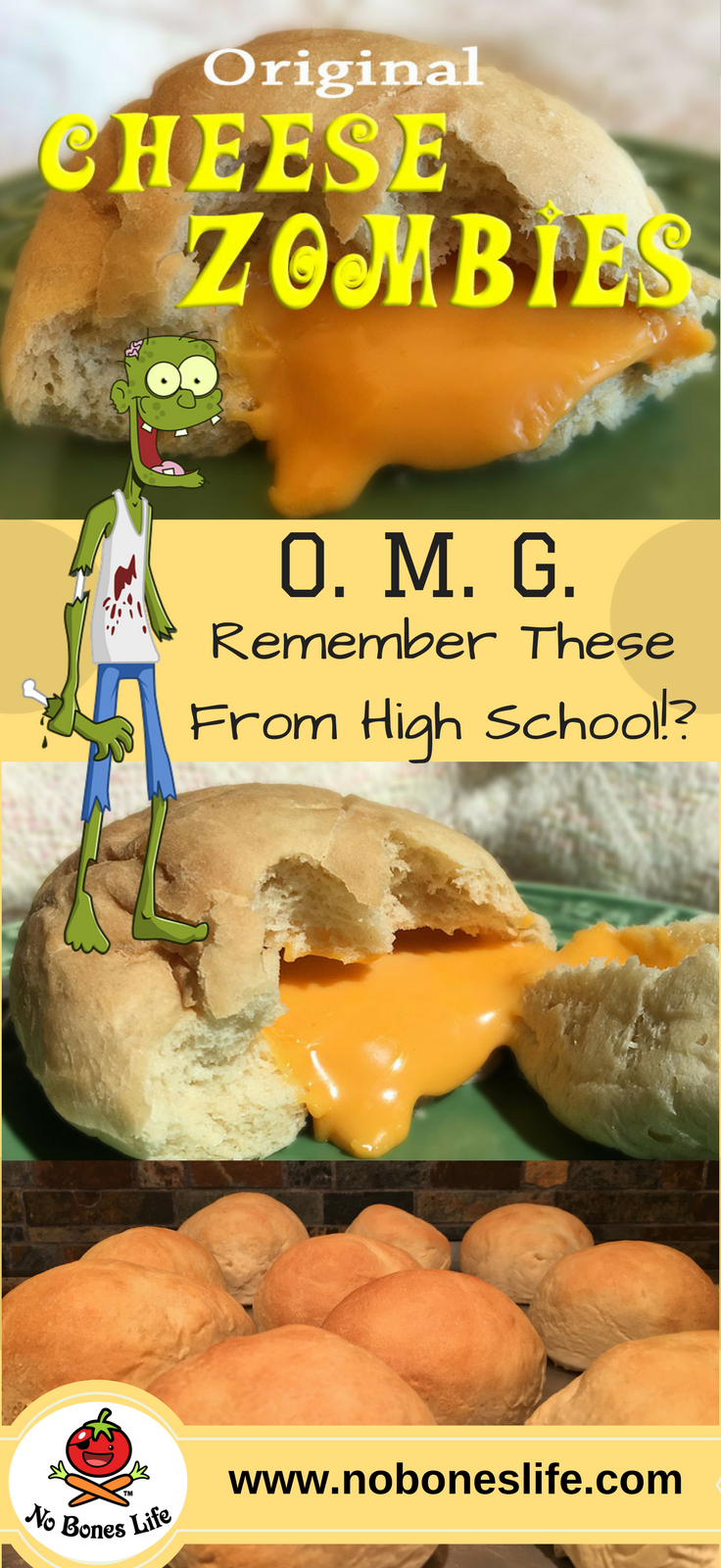 The Zombies are back!! Get your provisions and be prepared... to make and enjoy this nostalgic cheese filled snack!