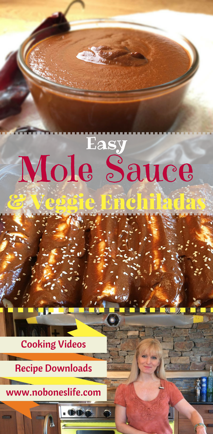 My easy and manageable recipe for a traditional Mexican Molé Sauce