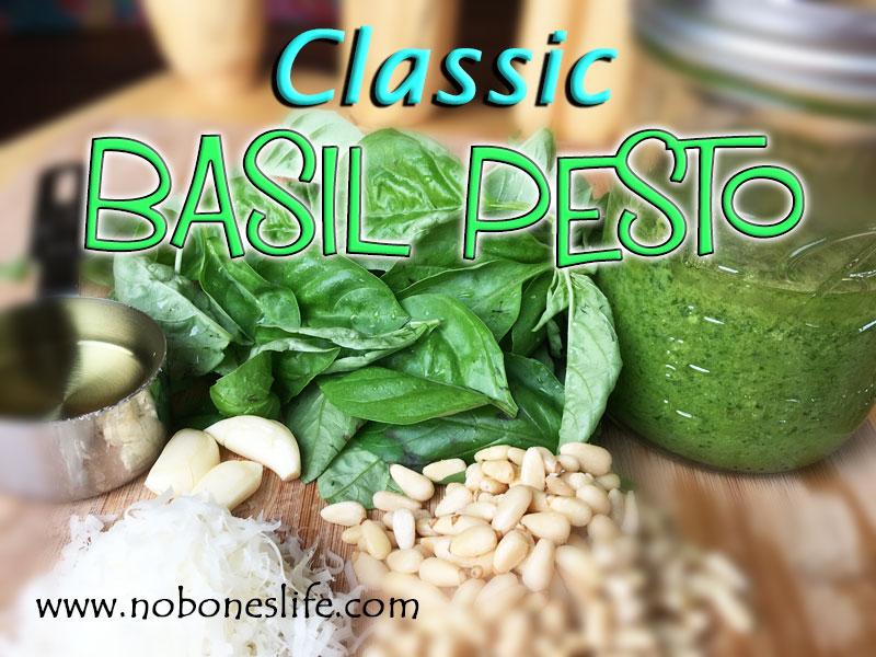 Classic Basil Pesto Sauce