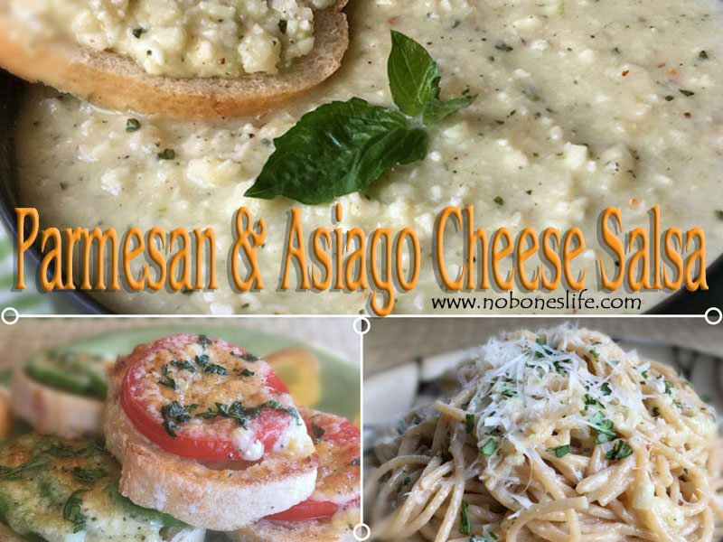 parmesan and asiago cheese salsa recipe