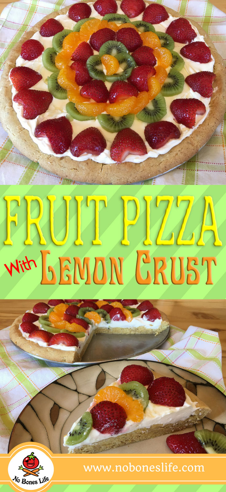 fruit pizza pinterest pin