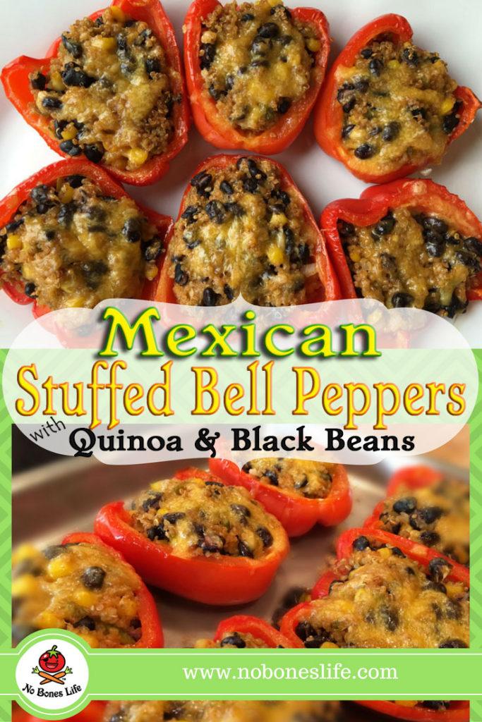 Mexican Stuffed Bell Peppers No Bones Life Com
