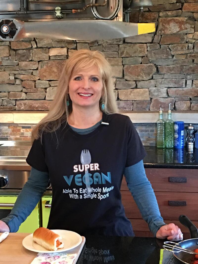 Joanie a Vegan Cook No Bones Life
