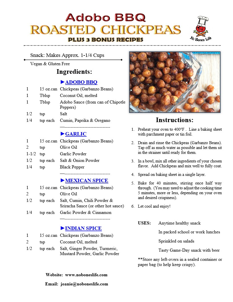 Chickpeas in adobo recipe