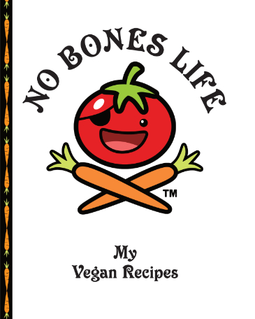 No Bones Life Logo Blank Recipe Book