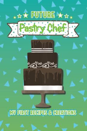 Future chef blank recipe book cover art