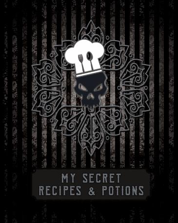 8x10 blank recipe book my secret recipes